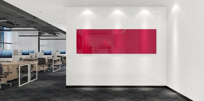 文具公司办公室装修设计效果图