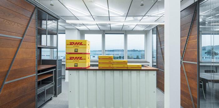 运输公司办公室装修设计效果图