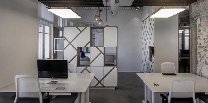 财务公司办公室装修设计效果图