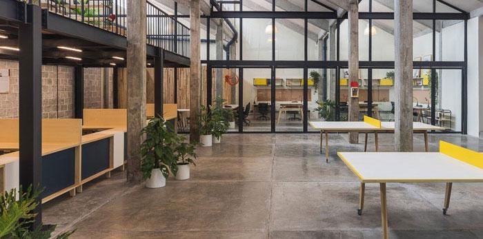 工厂办公室改造装修设计效果图