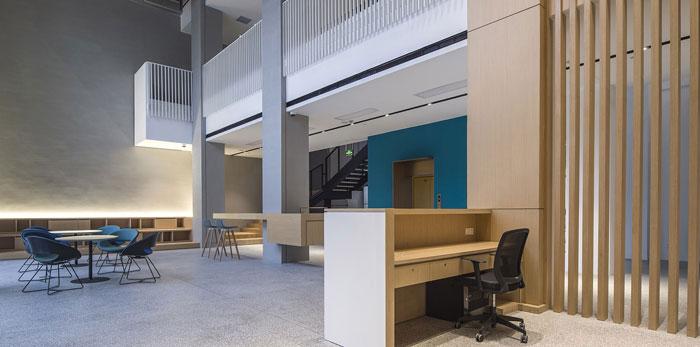 厂房办公空间装修设计效果图