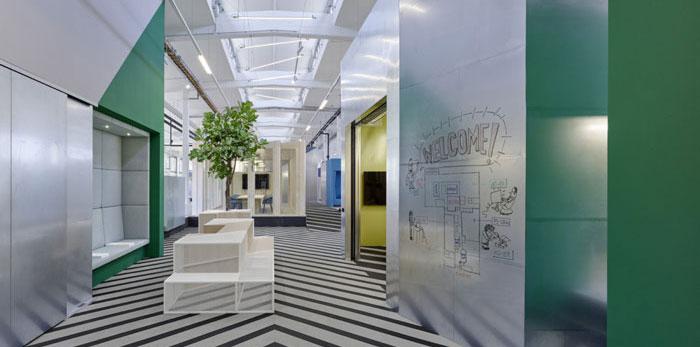 厂区办公室装修设计效果图