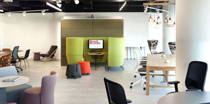 厂家办公室装修设计效果图