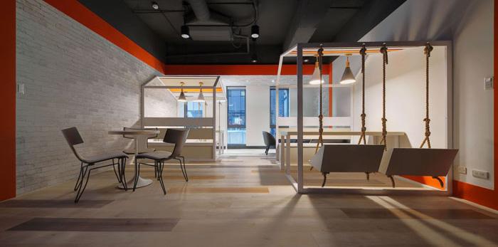 娱乐文化公司办公室装修设计效果图