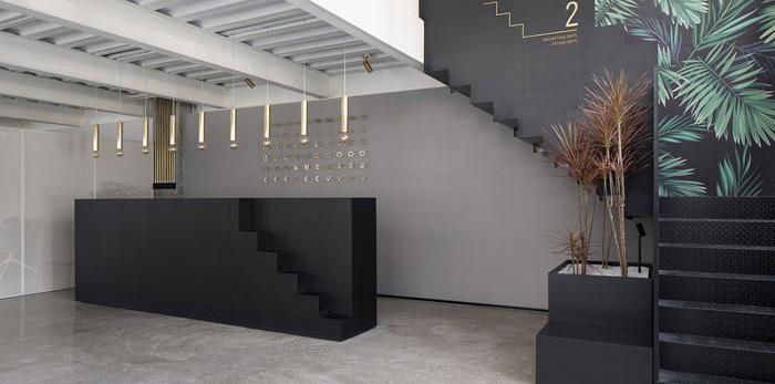 家具公司办公室装修设计效果图