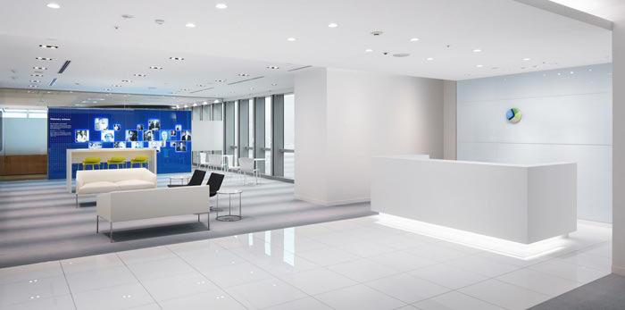 医药中心办公室装修设计效果图