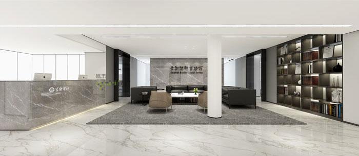 杭州律师事务所办公室装修设计效果图