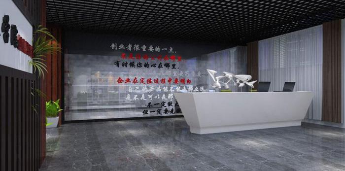 杭州乔司办公室装修设计效果图