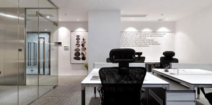 杭州彭埠办公室装修设计效果图
