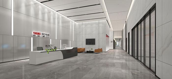 杭州鸿世电器办公楼装修设计效果图