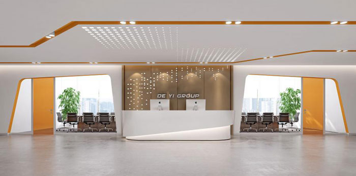 杭州瓶窑办公室装修设计效果图