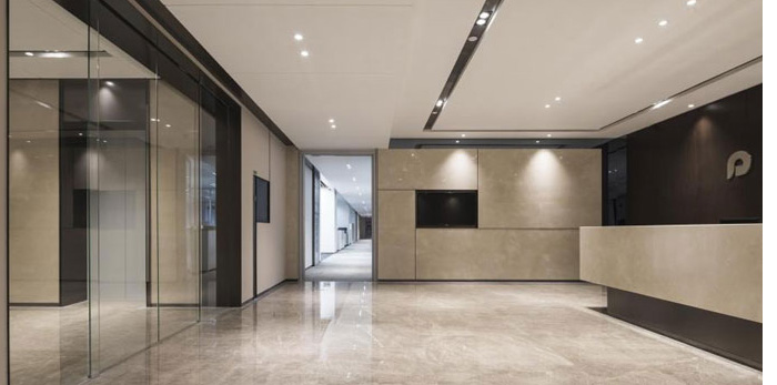 杭州大江东办公室装修设计效果图