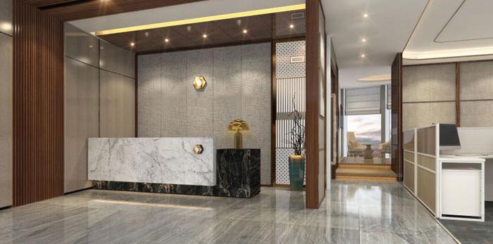 杭州老余杭办公室装修设计效果图