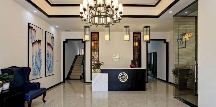 杭州闲林办公室装修设计效果图