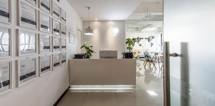 杭州塘栖办公室装修设计效果图