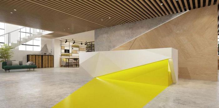 杭州桐庐办公室装修设计效果图