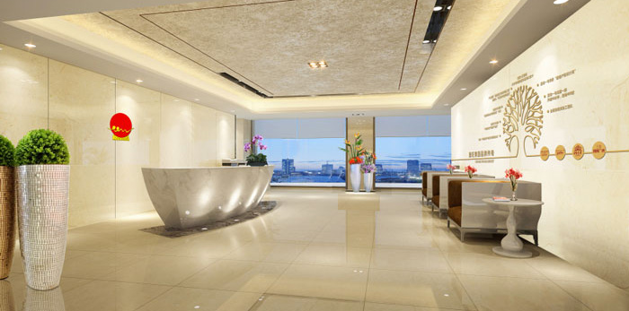 杭州富阳办公室装修设计效果图