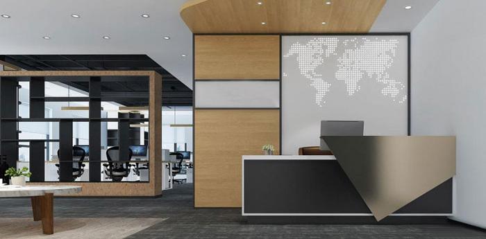 杭州萧山办公室装修设计效果图