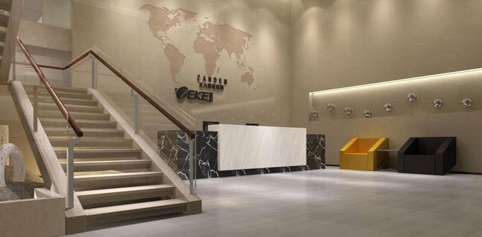 杭州仓前办公室装修设计效果图