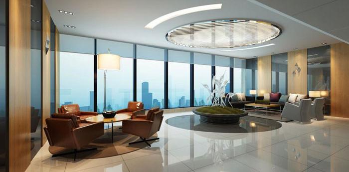 杭州桐庐办公楼装修设计效果图