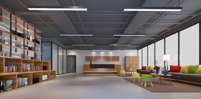 教育学校办公室装修设计效果图