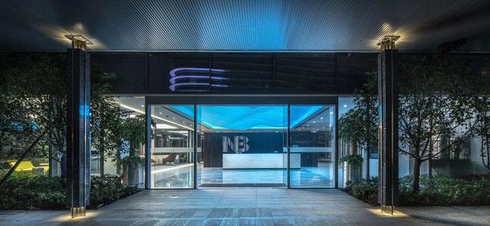 金融科技办公楼装修设计效果图