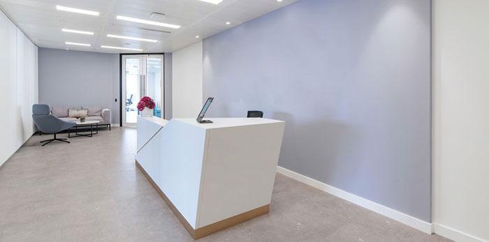 互联网金融办公室装修设计效果图