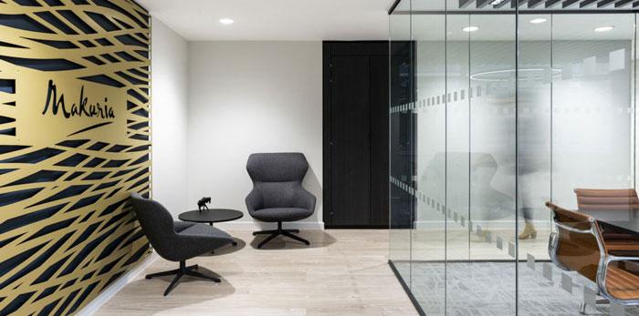 投资管理公司办公室装修设计效果图