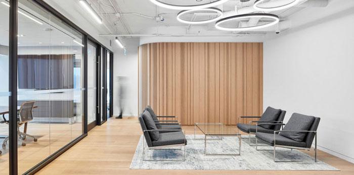 投资集团办公室装修设计效果图