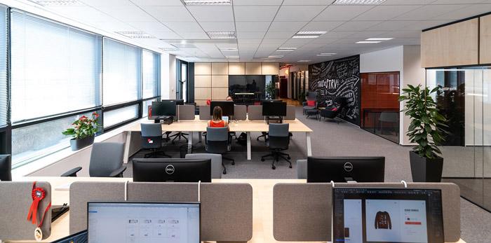 科技办公室设计方案