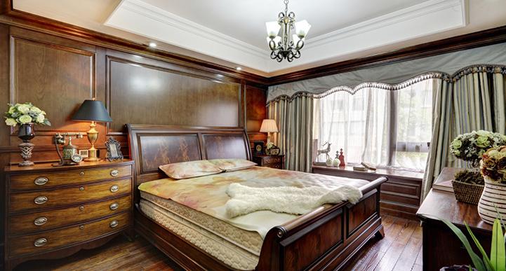后现代风格特色卧室效果图
