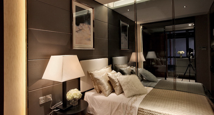 后现代风格卧室效果图