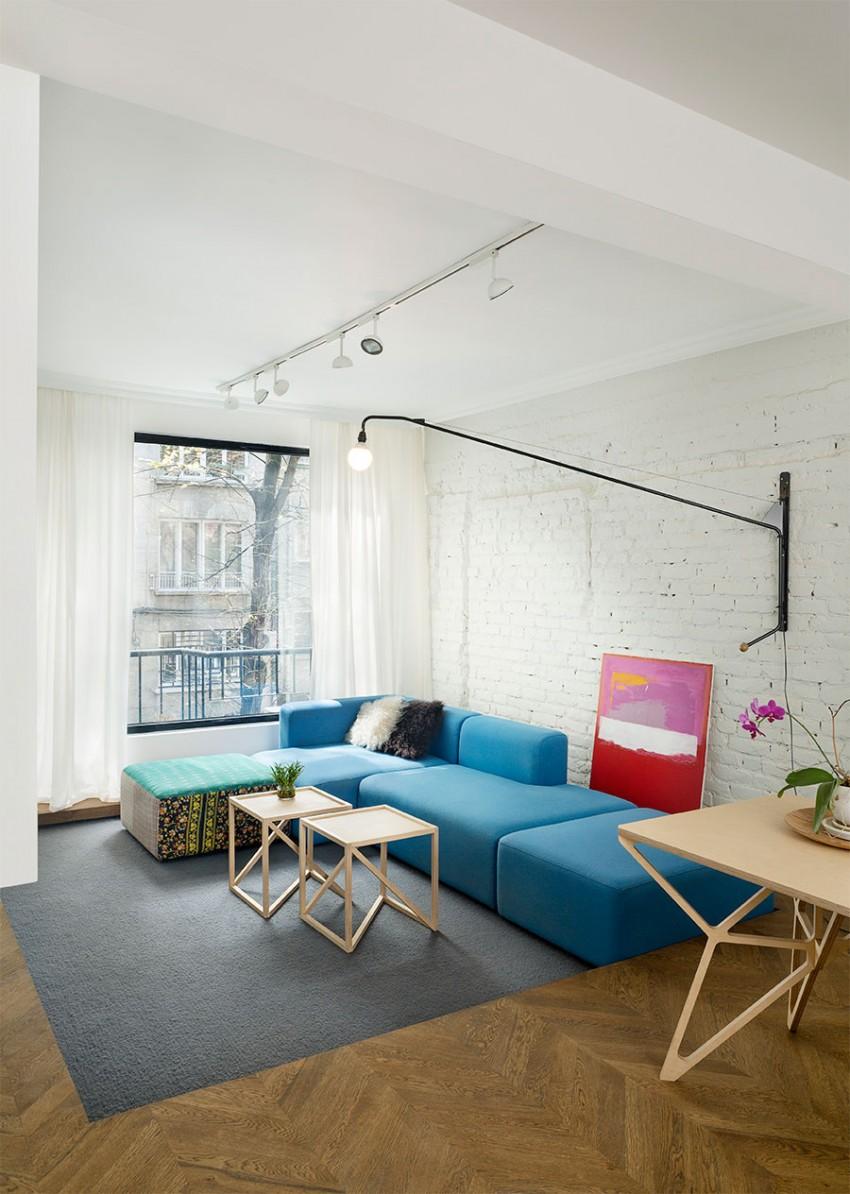 美式公寓效果图2