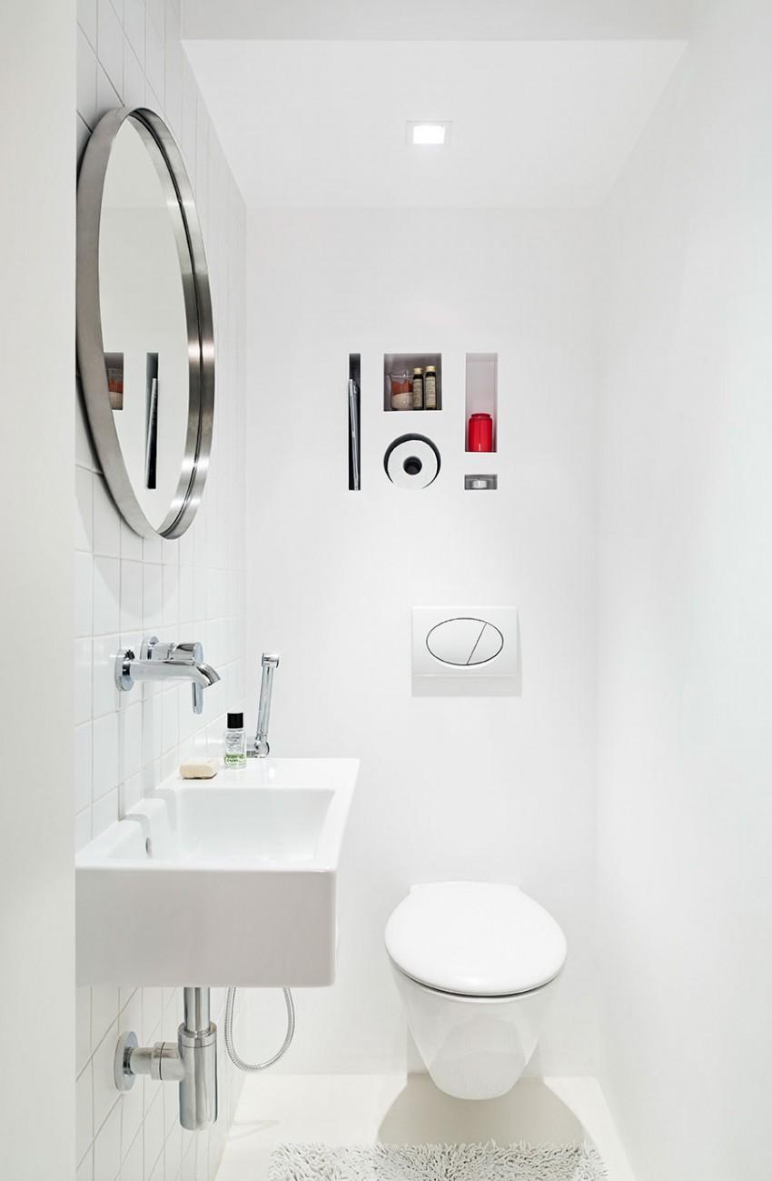 美式公寓卫生间效果图