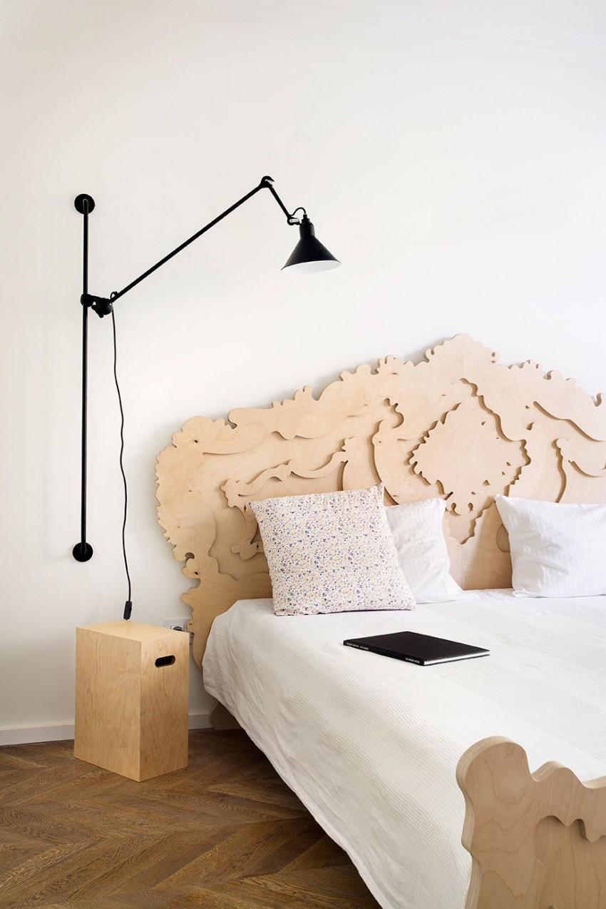 美式公寓卧室效果图