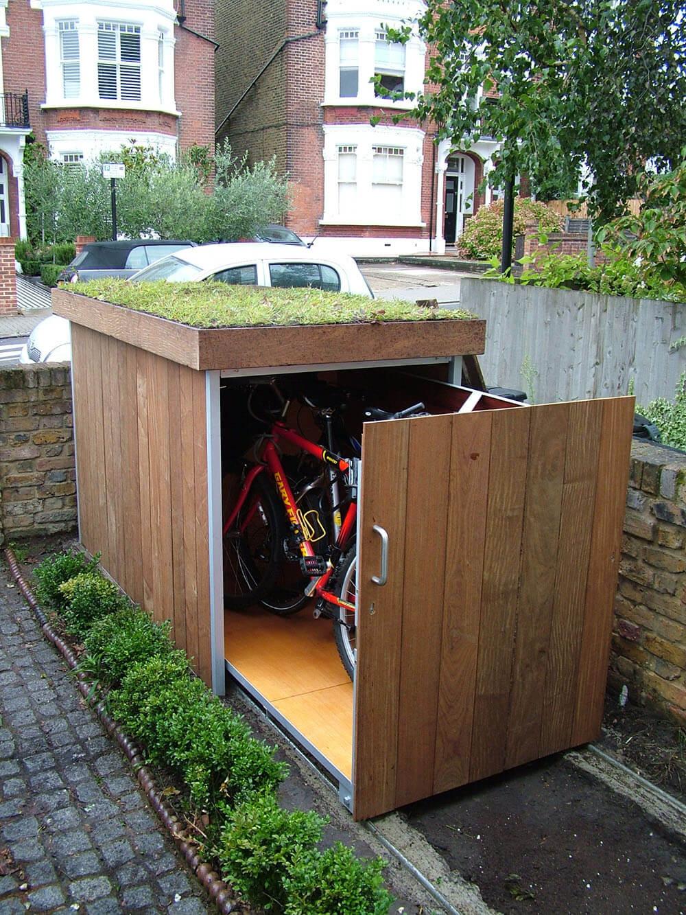 自行车储藏效果图2
