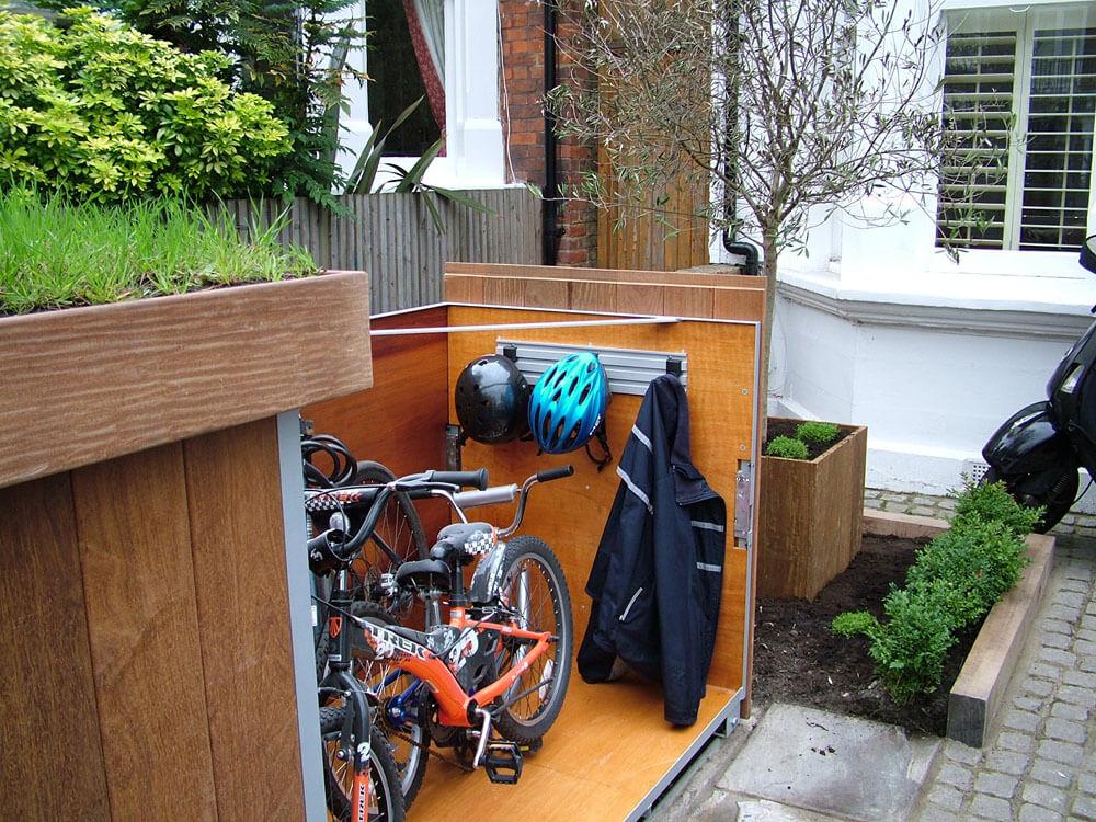 自行车储藏效果图5