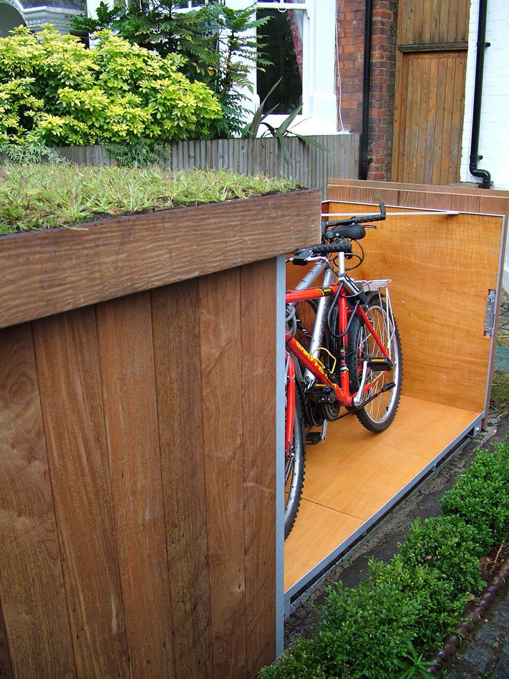 自行车储藏效果图6