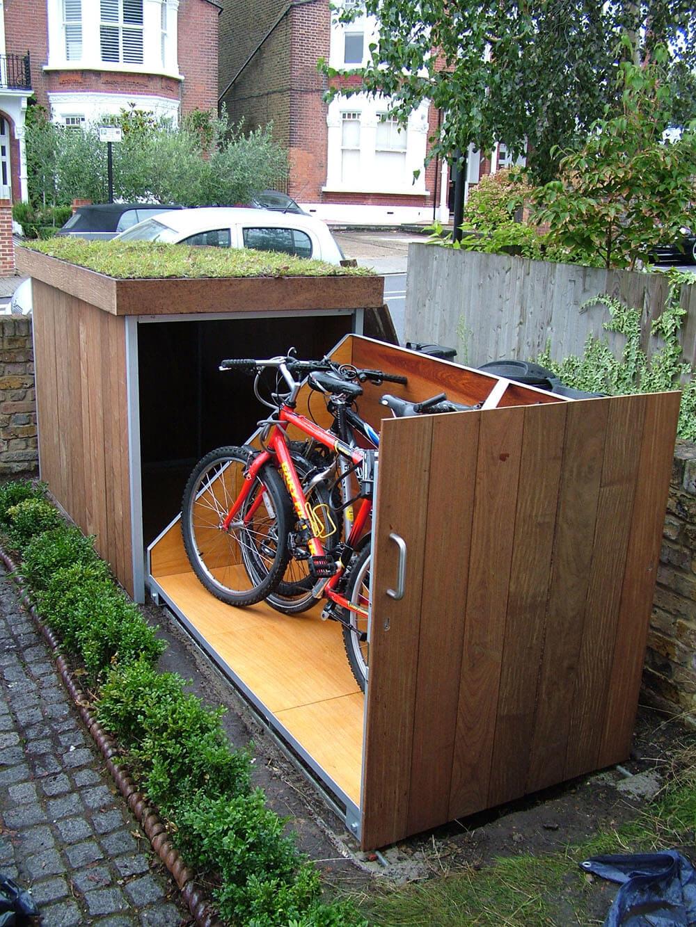 自行车储藏效果图7