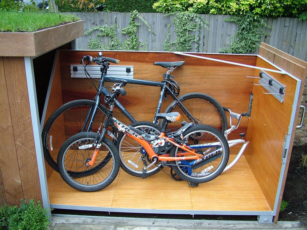 自行车储藏效果图8