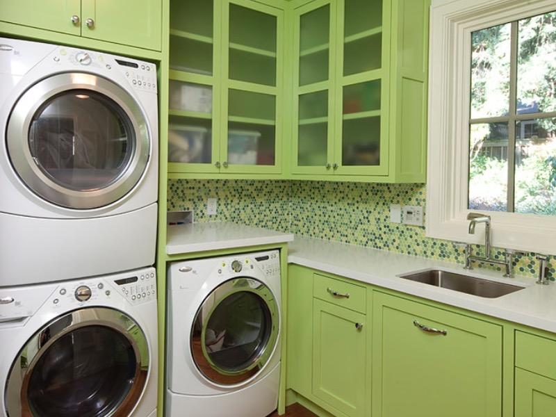 主题颜色洗衣房效果图