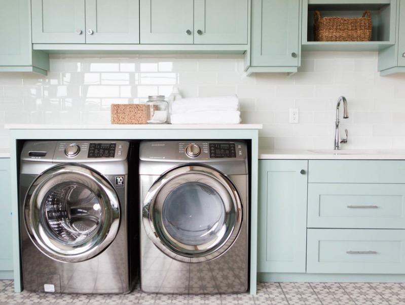洗衣房的家具设计效果图