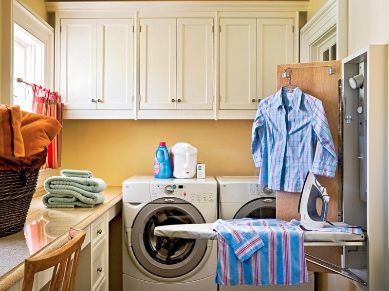 洗衣房附件隐藏效果图