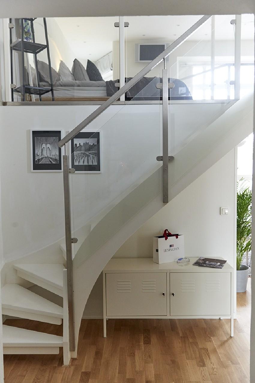 明亮的瑞典公寓设计效果图5