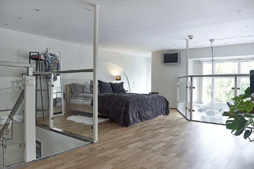 明亮的瑞典公寓设计效果图6