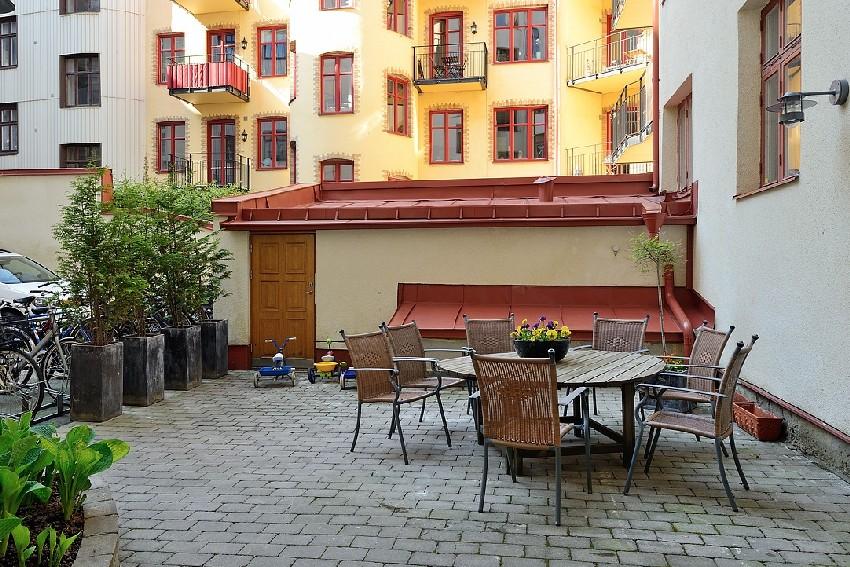 明亮的瑞典公寓设计效果图9
