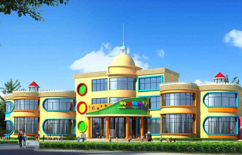 杭州幼儿园装修——整体外观常见设计风格的有哪些