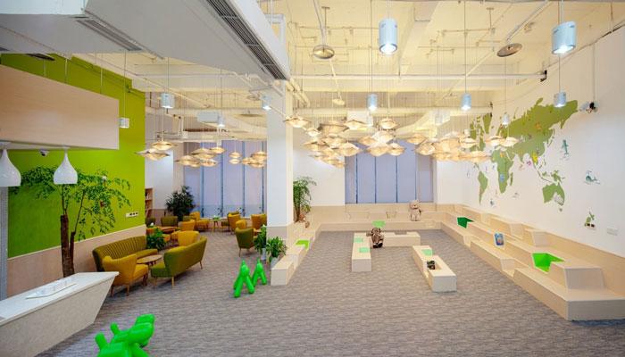 杭州幼儿园装修设计公司_杭州幼儿园装修设计效果图