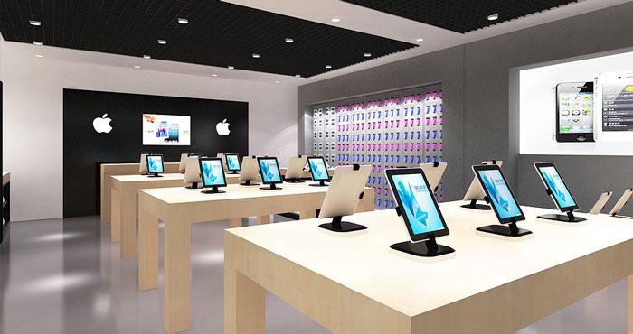 童装专卖店设计理念_苹果专卖店装修设计案例效果图_岚禾装饰设计