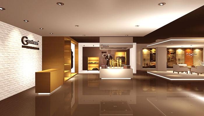 灯具展厅装修设计案例